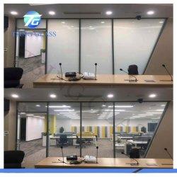 Smart conmutable Pdlc blanco película de cine / Vidrio puertas / ventanas / baño / Sala de reuniones