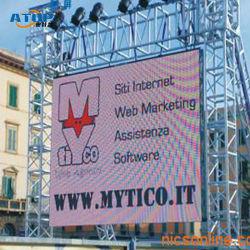광고를 위한 옥외 영상 다중 색깔 발광 다이오드 표시