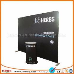 Custom 8ft 10FT 20FT publicidade comércio de alumínio portátil Mostrar visor Visor reto de exposições ou curvas a Tensão da Tela de Malha de PVC (JMCB)