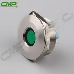 CMP 30mm equipamentos metálicos indicador acende as lâmpadas piloto LED 6 cores