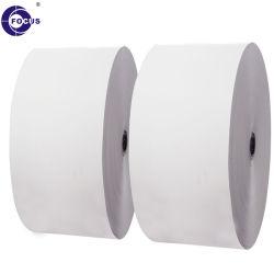 Rouleau Jumbo dans 55GSM marque Focus de papier thermique pour les petits de refendage de rouleau
