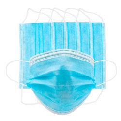 3 strati della maschera di protezione non tessuta a gettare per uso medico esportato verso Europa