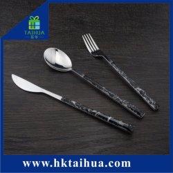 Reeks van het Bestek van het Roestvrij staal van de manier de Poolse, Talbleware, Tafelgereedschap voor Restaurants