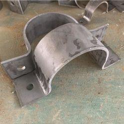 Dispositivo de soporte de acero al carbono de tornillo doble Heavy Duty solo la abrazadera del tubo