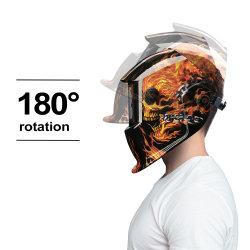 Sensor Koplamp variabele kap Zonnenveiligheid Welding Helmen met Skeleton