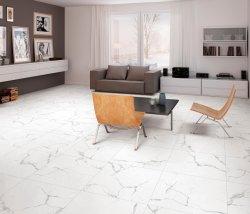 Carrara الرخام الأبيض تصميم بورسلين الزجاج مواد البناء الجدار الأرضية Tile (WT-CAM05JB)