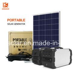 400W Notstromgenerator Für zu Hause, Geladen von Solarmodul, DC/AC-Ausgang, Große Kapazität