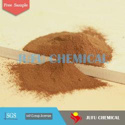 pH 9-10 黄色のリグニンを水還元添加剤のリニョスルホン酸ナトリウムとして使用します