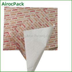 Folha de alumínio e papel para embalagem de alimentos