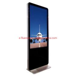 """65 """" 광고를 위해 전기 용량 대화식 큰 Touchscreen 4K 모니터 간이 건축물 LCD 디스플레이 접촉 스크린을 광고하는 주문 LCD 위원회"""