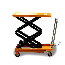 800kg Elegent 시리즈 이동식 유압 리프터 테이블