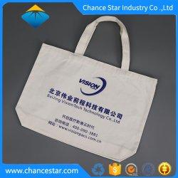 Kundenspezifischer organischer Baumwolltote-Beutel mit einfachem Firmenzeichen-Drucken