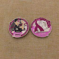Америки Nypd высшего качества блестящих серебряных монет рака