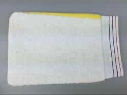 Baño de vapor caliente baño Wash Scrub Guante guante exfoliante