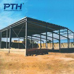 Сенегал сегменте панельного домостроения в доме с оцинкованной стали структуры дизайн склада и цвет стальной кровли