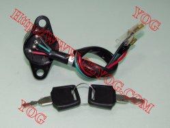 Детали мотоциклов мотоцикл замка зажигания для Akt125 AX100 Cg125 En125 GS125 K90 Hj125-7 Byq200