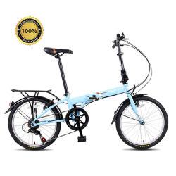 Velocità piegante di pollice 7 della bici 20 della piccola bicicletta della rotella, bici piegante lega di alluminio di 20 pollici