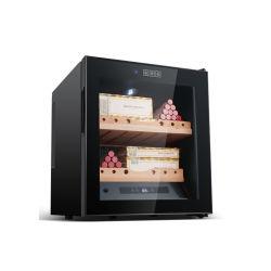 Estante de madera de cedro español de madera armario de cigarro electrónico caja de puros