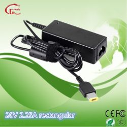 20V AC DC 노트북 전원 어댑터 노트북 충전기 어댑터 45W IBM용 USB 팁