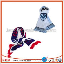 Haut de gros de la qualité de l'écharpe en acrylique en tricot double couche