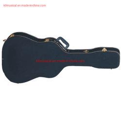 Hoogwaardige stevige houten westerse gitaartas