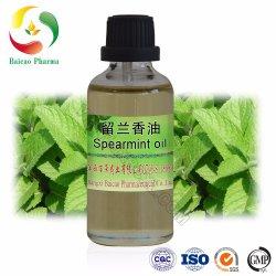 Spearmintオイルの100%年の工場自然で純粋なCAS No.: 8008-79-5芳香オイルの食糧味ベースオイルの精油