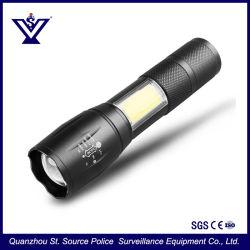 Het Flitslicht van de Toorts van de Bank van de Macht van Lichte 18650 batterijkabels van uitstekende kwaliteit van /26500 van de Glans van Xml van het Embleem van de Douane T6 (Sysg-180820)