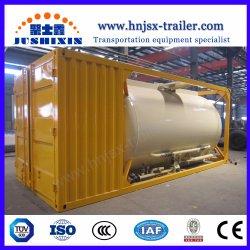 Contenitore Serbatoio Telaio Iso Per Trasporto Bulker/Bulker Bulk Cement Con Compressore Pneumatico E Motore Diesel
