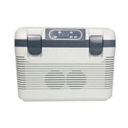 最新の 18L ポータブルミニカー冷蔵庫熱電冷却冷蔵庫