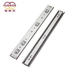 Hardware gabinete de acero inoxidable 304 de 45 mm de rodamiento de bolas Normal diapositivas cajón
