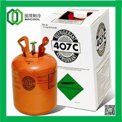 L'elevata purezza, Hfc ha basato il gas Refrigerant Mixed (R407C)