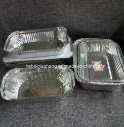 Дружественность к окружающей среде домашних хозяйств контейнер из алюминиевой фольги
