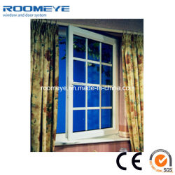 New Window Grill Design Vinyl/Plastic/PVC casement window