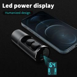 回転式充満ボックスステレオの無線BluetoothのヘッドホーンのスポーツEarbuds