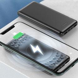 Логотипа OEM-Банк питания Подставка телефона банк беспроводного питания зарядного устройства