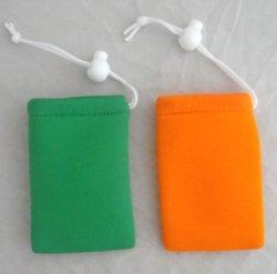 Desenho colorido do fone de ouvido mini-bolsa bolsa