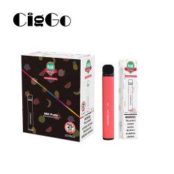 Cigarette électronique Saveur de bleuets E Liquide Vape stylo jetable