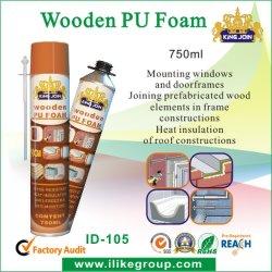 Spray In Poliuretano Espanso Di Legno Termoisolante (Kingjoin Id-103)