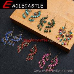 당 부속품 숙녀 아름다운 귀걸이 짜개진 조각 부속품 형식 보석 국제적인 작풍 귀걸이 Retro 귀걸이 의복 부속품 (E201193)