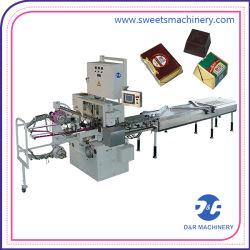 Однослойная Double Multi-назн Автоматический складной шоколад Упаковка упаковочная машина