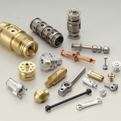 Kundenspezifischer Messingdrehencnc-Teil-Messingbuchse-Kupfer-Verbinder