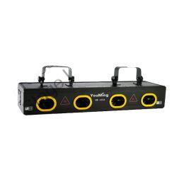 Nouvelle LED Ordinateur professionnel d'éclairage d'effet laser avec rouge, vert, jaune et bleu, Quatre laser pour ordinateur de la tête de Um-J55A