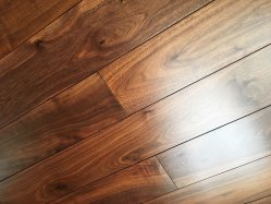 Le noyer noir solide Flooring/Natural/luxueux/durable/100 % de bois