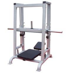 De verticale Pers van het Been, Commerciële Uitbreiding van de Apparatuur van de Gymnastiek van de Geschiktheid de Plaat Geladen