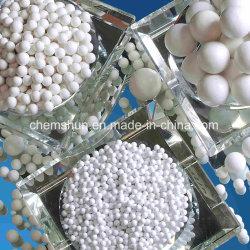 Инертные глинозема керамические мяч в качестве катализатора кровать (Al2O3: 99%)