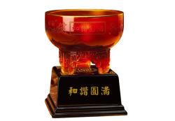 Desejo vermelho - Arte A Arte de vidro de cristal de luxo para a Cerimônia de Abertura do dom do banco