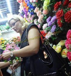 La Chine de fleurs artificielles en plastique de tissu de soie à la main pour la décoration de fleurs