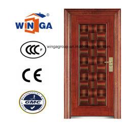 Segurança de Middle Market Porta de ferro de aço exteriores de metal (W-S-120)