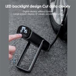 휴대용 차량 장착 지능형 무선 디지털 자동차 타이어 인플레이터 공기 펌프 미니 지능형 디지털 공기 펌프 미니 타이어 인플레이터 충전식