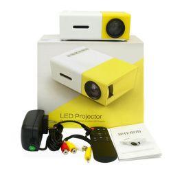 Projector LED Projector de cinema em casa portátil LED Mini projector micro Yg300 Projector Micro projector doméstico